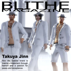 Blithe Magazine April 2013 Cover